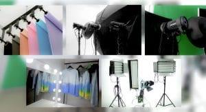оборудование в фотостудия